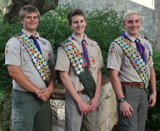 Eagle Scout  portraits