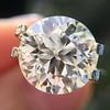 3.86ct Old European Cut Diamond GIA K VS2 48