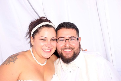 Nikki and Lupe's Wedding Photo Booth