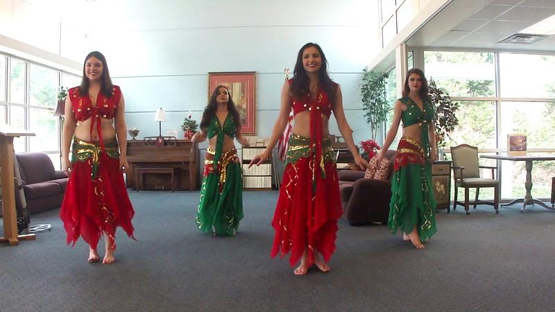 Tapestry  Dancers; in; Akkoud; Habibi