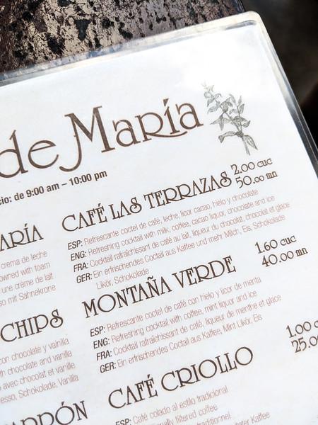 Las Terrazas Cuba cafe de maria menu.jpg