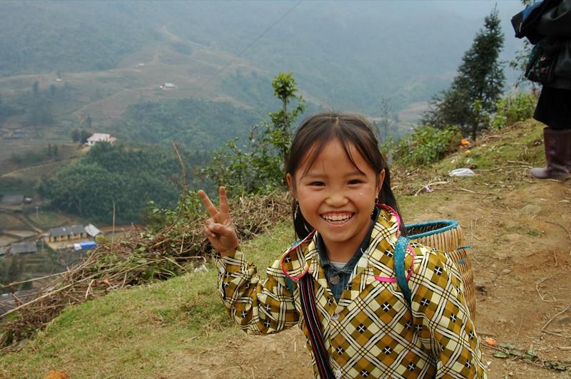 Peace Sign - Sapa, Vietnam