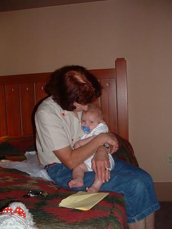 Mom Woehrer's Birthday Weekend 9/04