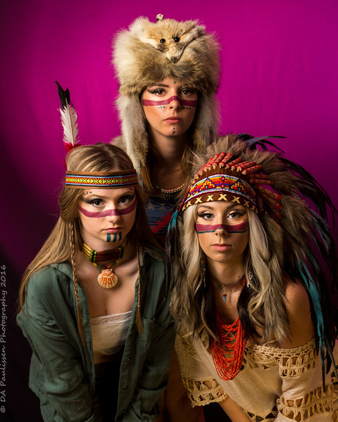 Native American Themed Shoot