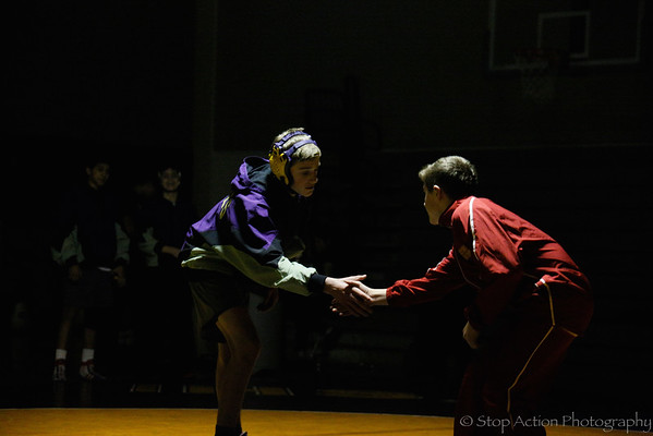 2015-01-22 Issaquah High School Wrestling vs Newport