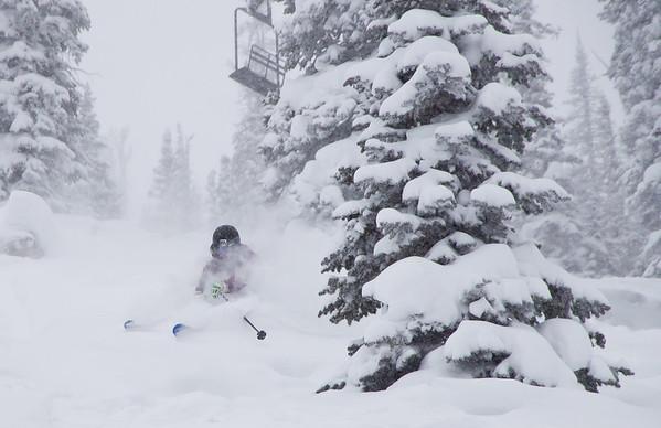 Monarch Storm Skiing (Dec '12)