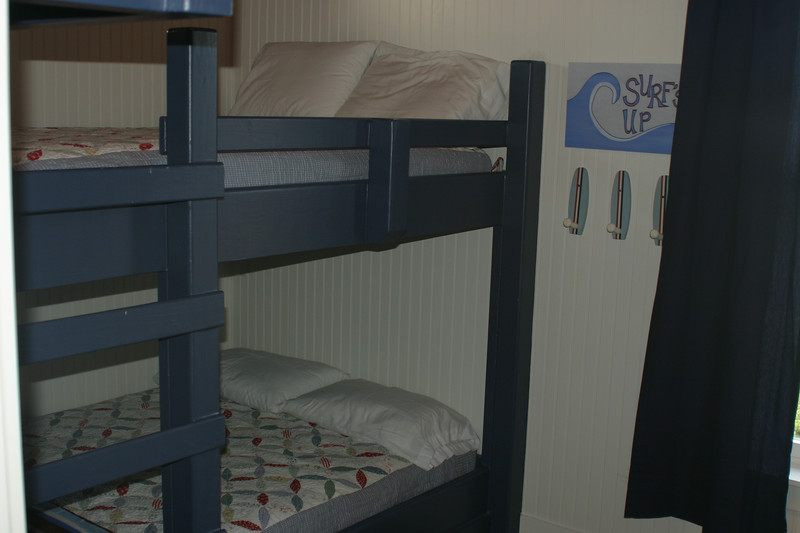 bunk bed room- 2 double beds (shown) 2 twin beds too