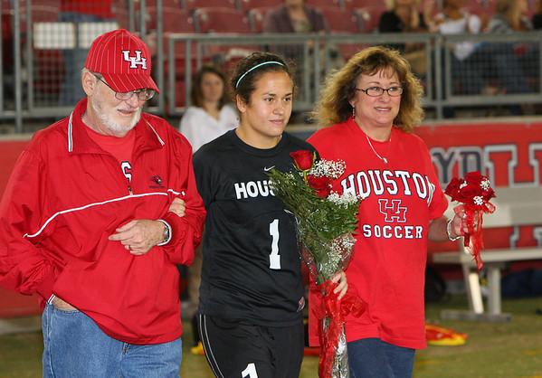 UH Soccer Senior Day