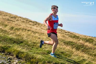 British and Irish Junior Mountain Championships - Moel Eilio Descent