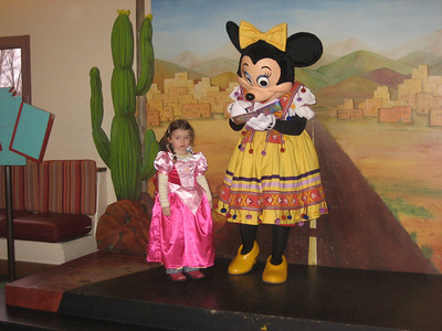 Chloe At Euro Disney