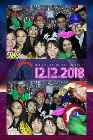 Citi MSS & Research Year End Party - 12th Dec 2018