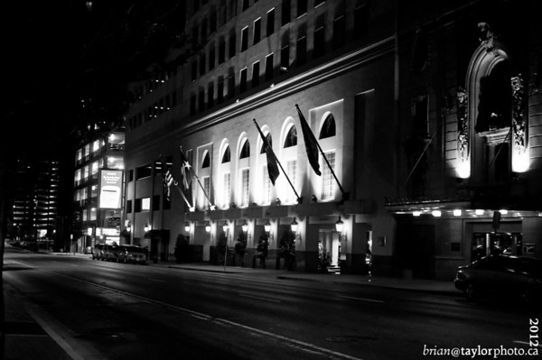 Dallas in Black and White