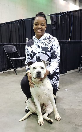 GHHS Dog Ball 2019 Nesha and Rock