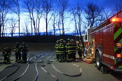 Budd Lake Firefighters Live Burn Training