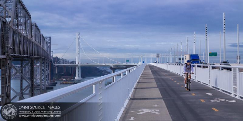 New Bay Bridge Trail (Alex Zuckermann Path) Oakland, CA