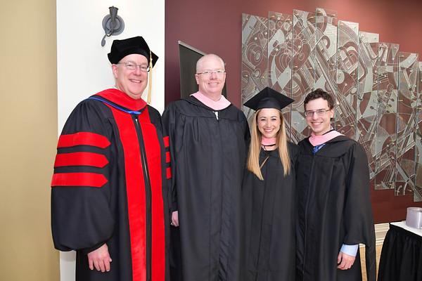 Mercer Graduation Hooding Ceremony 5-12-17