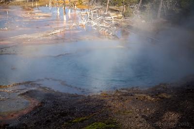 Yellowstone Firehole Lake Drive