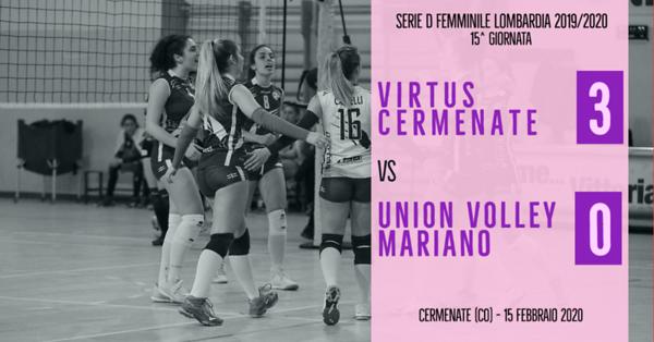 LOM-Df: 15^ Virtus Cermenate - Union Volley Mariano PG