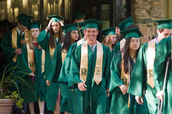 2019 Traverse City West Graduation