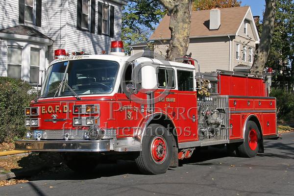 East Orange,NJ Apparatus - Nov. 2006