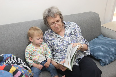 D & K (& Grandma & Timna & Ariella)
