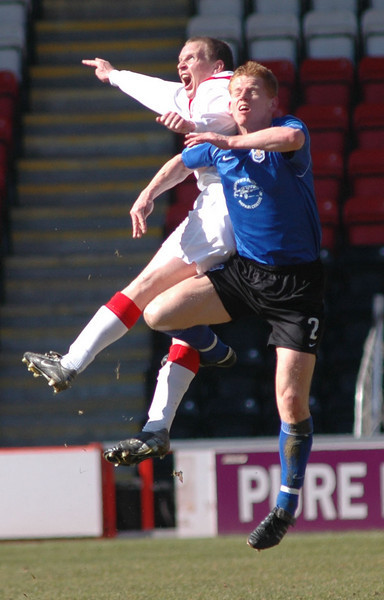 Airdrie v Queen of the South (1.1) 8 April 2006