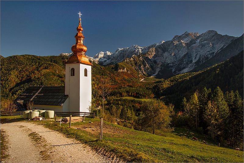 Jezersko - St. Oswald church