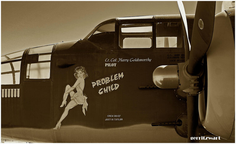 B-25 Mitchell and Harry's problem