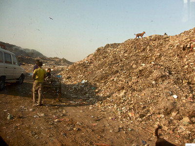 Garbage Dump in Ahmedabad