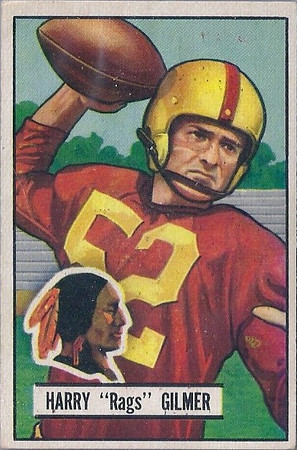 1930s to 1950s Redskins Cards