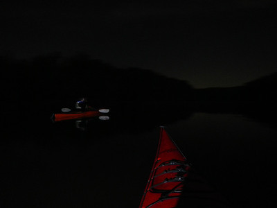 Full Moon Paddle-Bull Run Marina 10-18-13