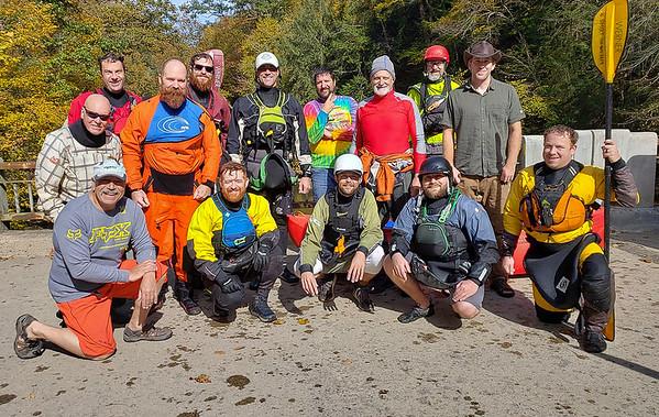 Kayaking Slippery Rock Creek (PA)