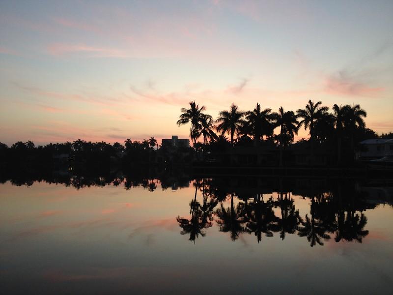Intracoastal morning reflections