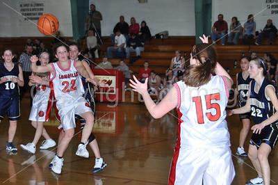 La Moille-Ohio VS Hiawatha Girls Basketball 1-11-10