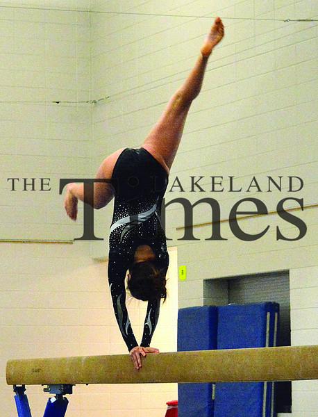2-4-14 Lakeland Gymnastics vs. Mosinee