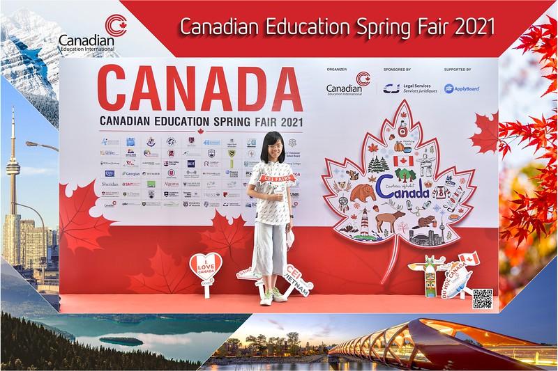Canadian Education Fair 2021 instant print photo booth @ Meliá Hanoi | Chụp hình in ảnh lấy ngay Hội thảo du học Canada | Ha Noi Photo Booth Vietnam