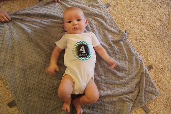 Alex 4 Months Old