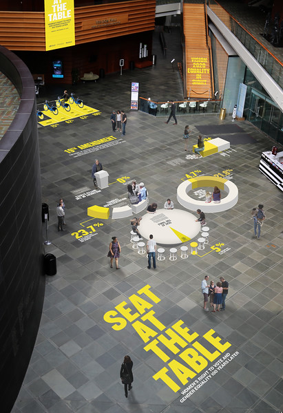 Vision 2020: A Seat at the Table Interactive Exhibition