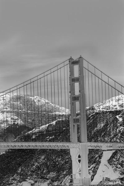 GOLDEN GATE BRIDGE well, a little of it, anyway