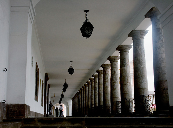Entrance Passageway to the Presidential Palace