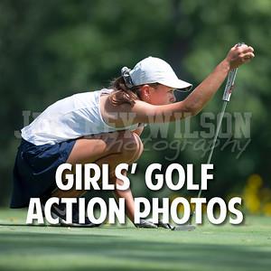 Prairie Girls Golf Action