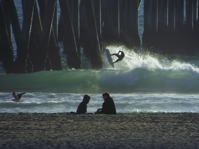 1/10/20 * AFTERNOON SESSION * DAILY SURFING PHOTOS * H.B. PIER