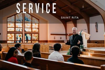 St Rita Print