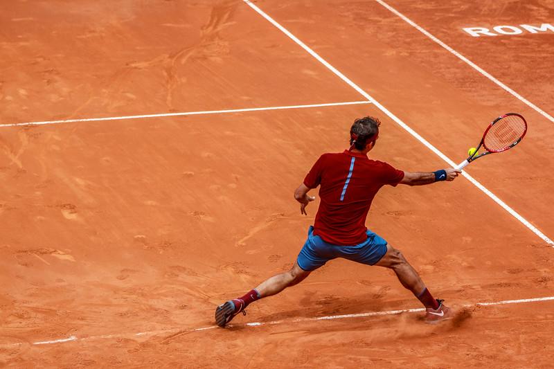 Federer slide