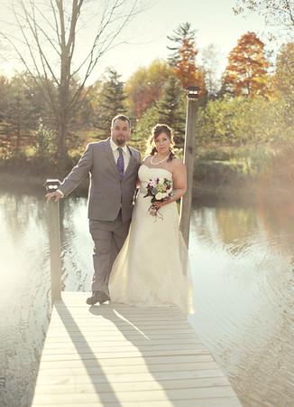 Denise & Justin- Michigan Ranch Wedding