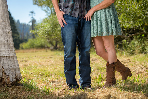 Maddie and Nick Engagement @ Quail Hollow Ranch, Felton