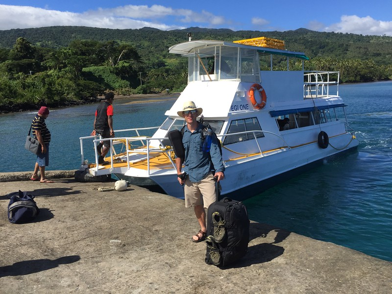 Taveuni Island Ferry from Vanua Levu Fiji