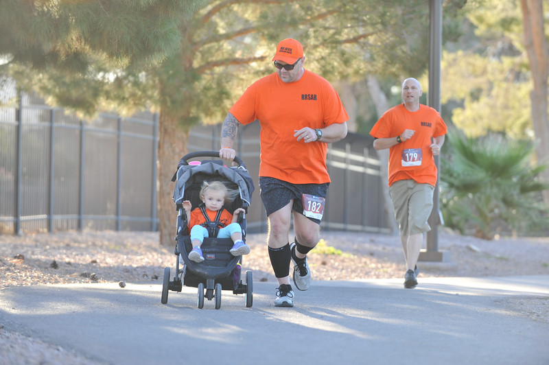 Red Rock Search and Rescue's 2nd Annual 5k run/1 mile walk at Craig Ranch Park in Las Vegas, NV. November 3, 2018. Photo by Ian Billings.