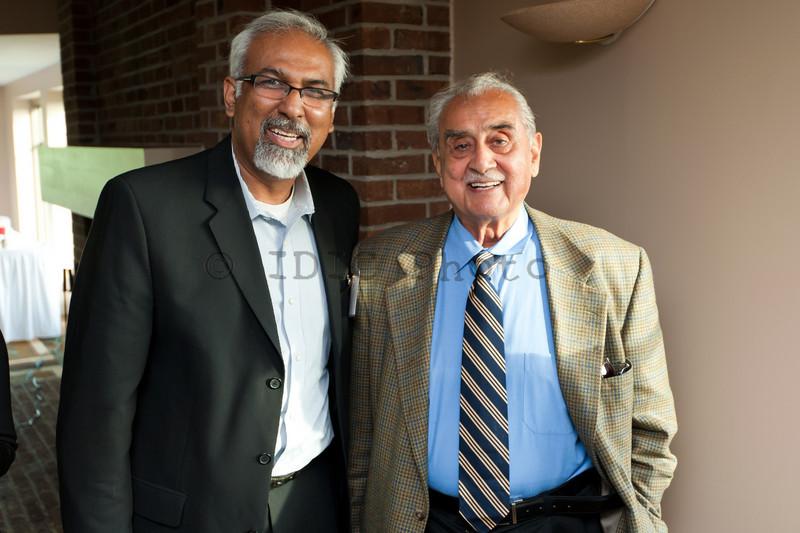 Imran Malik with Syed Babar Ali