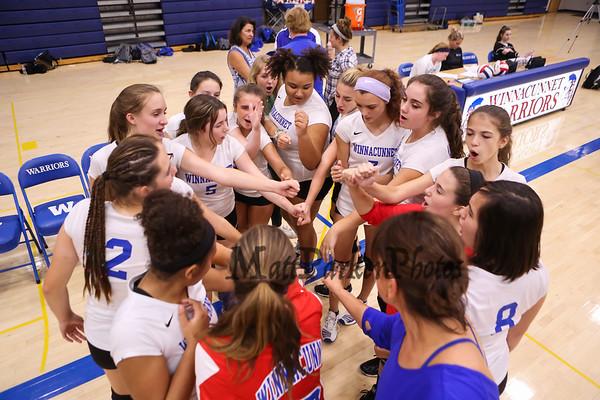 2017-9-18 WHS Girls Volleyball vs Hollis-Brookline